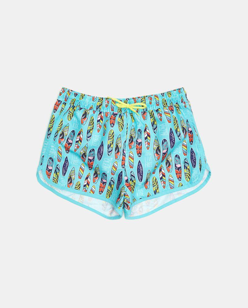 Shorts costume con fantasia tavole da surf