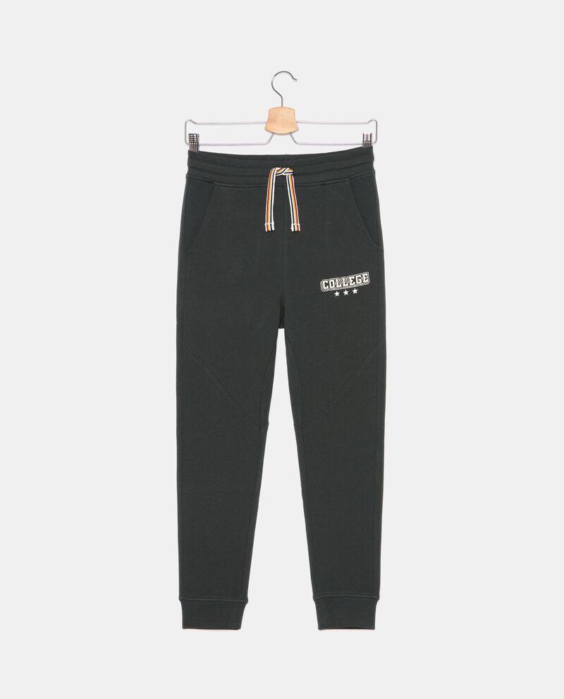 Pantaloni in cotone organico di felpa ragazzo cover
