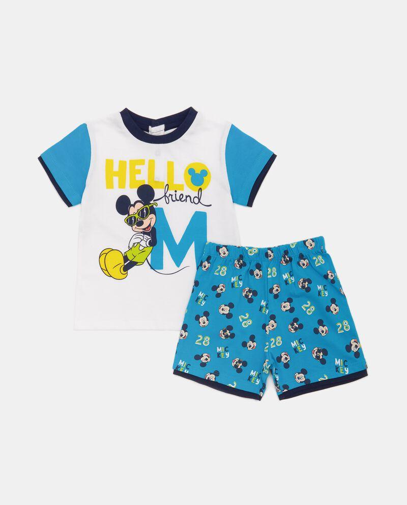 Set pigiama Topolino in puro cotone neonato
