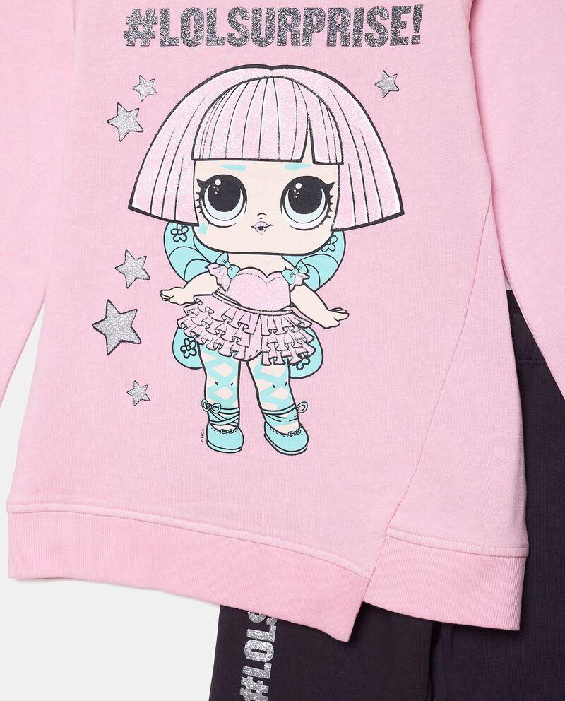 Set jogging con maglia e leggings bambina