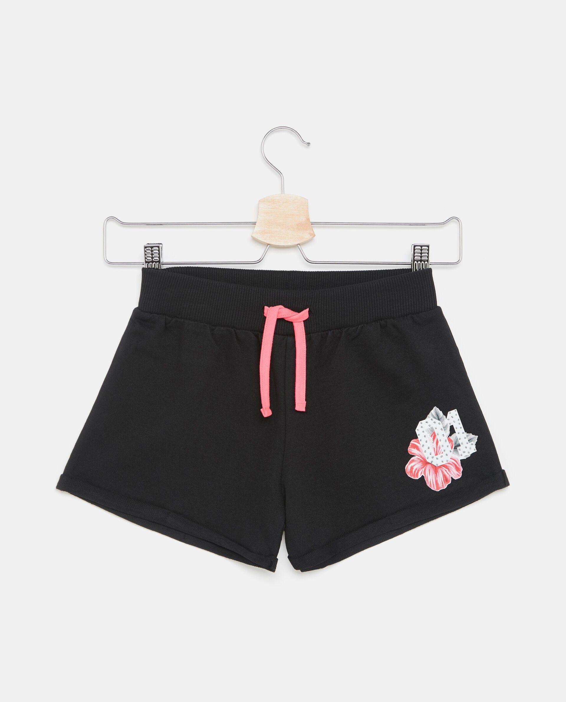 Shorts sportivi in puro cotone ragazza