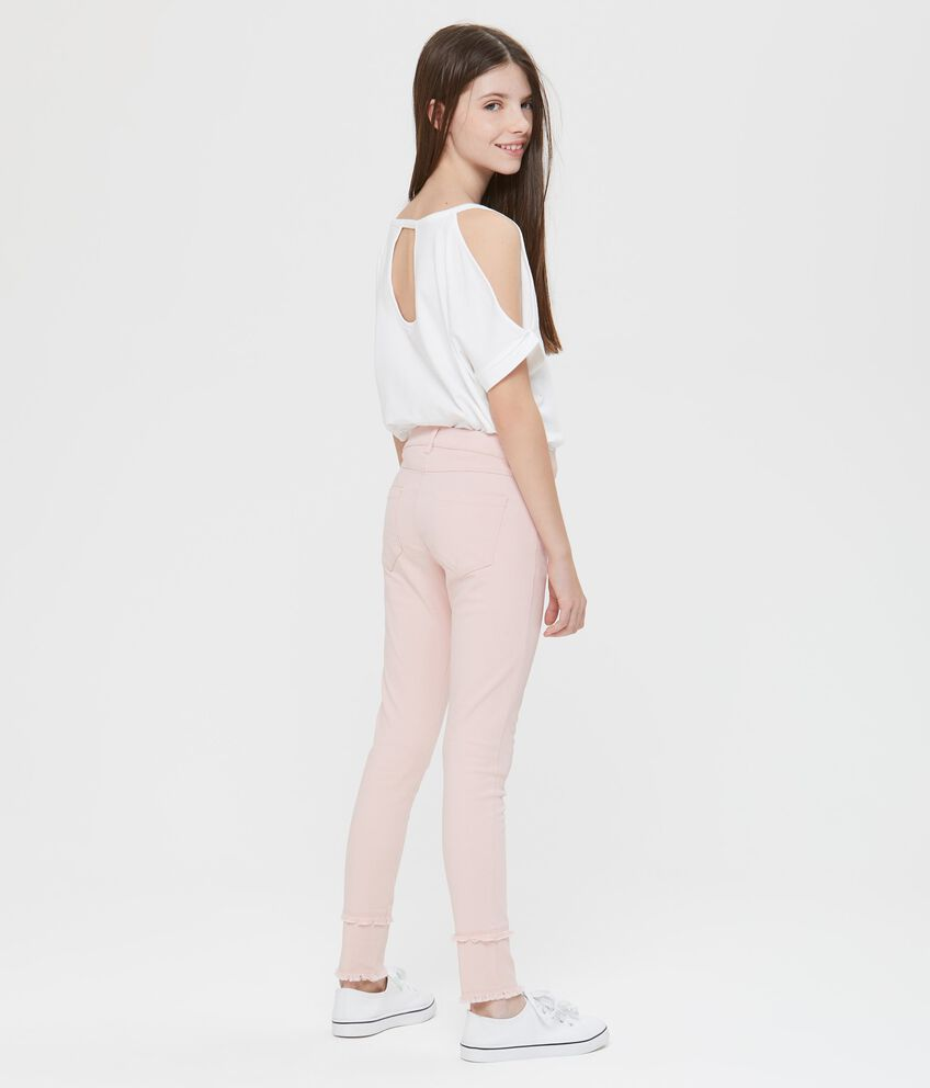 Pantaloni lunghi con perline