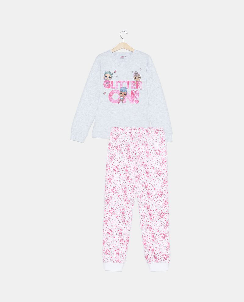 Set pigiama con maglia e pantaloni di puro cotone biologico