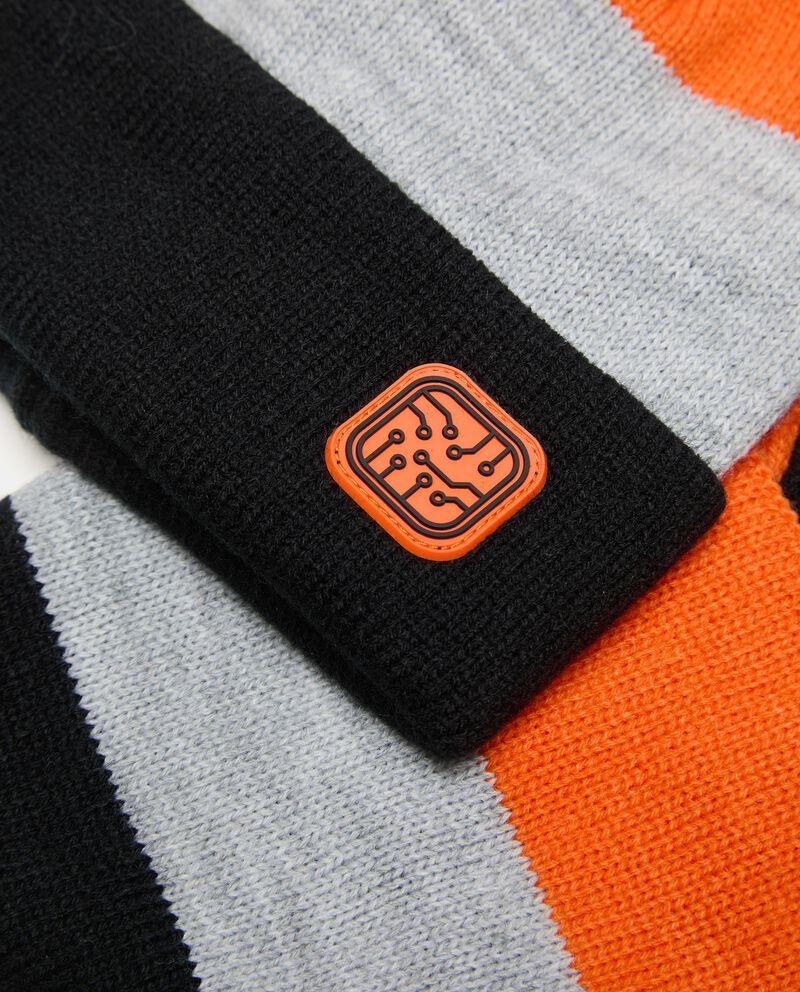 Set berretto e scaldacollo tricot ragazzo single tile 1