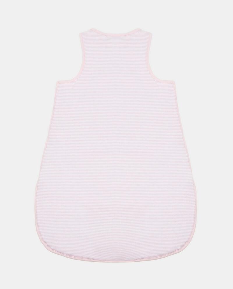 Tutina a sacco cotone patch coniglietto
