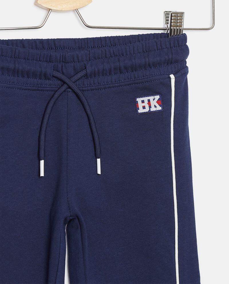 Pantaloni di cotone organico con inserti bambino single tile 1