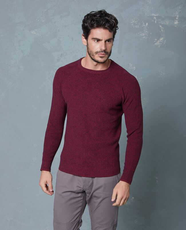 Pullover mélange uomo