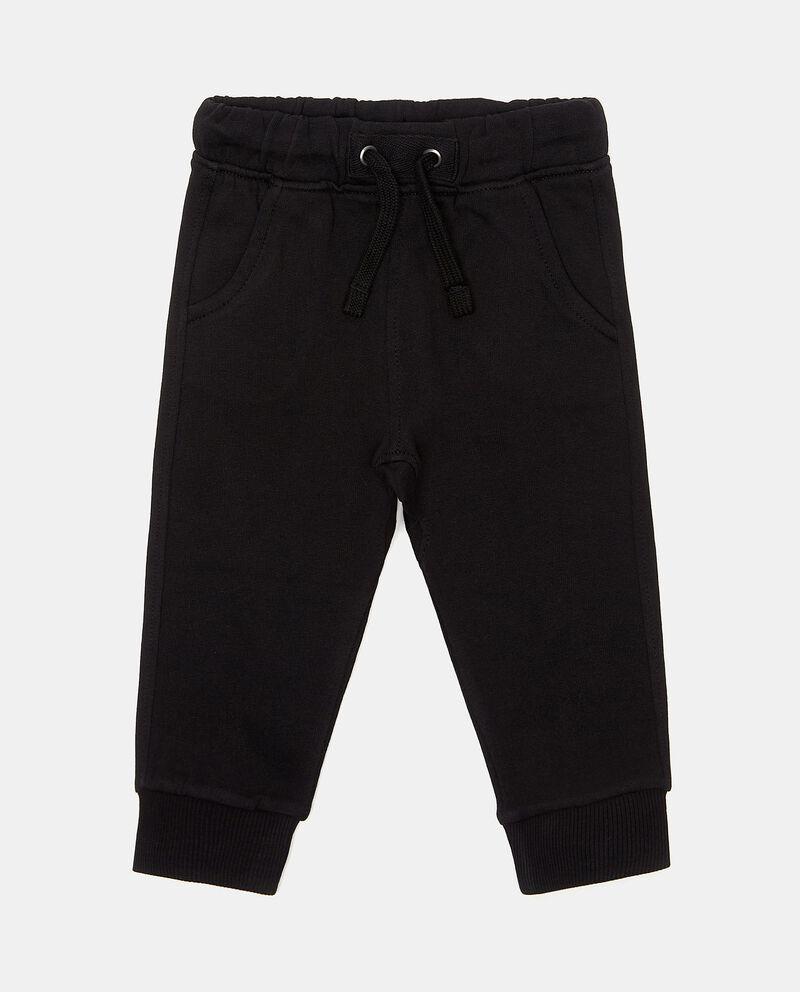 Pantaloni sportivi in puro cotone neonato