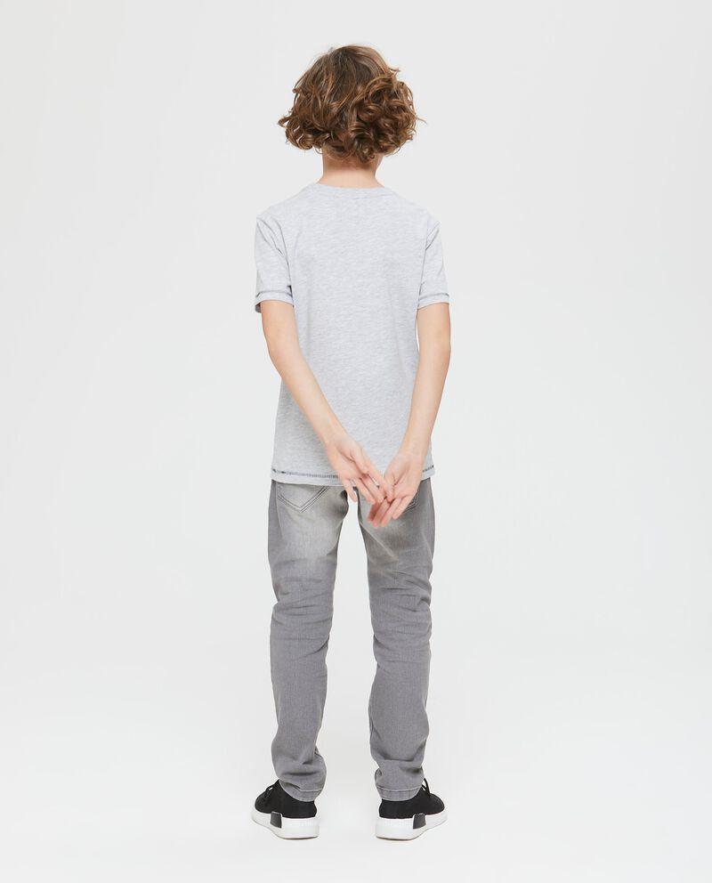 T-shirt maniche corte stampa summer
