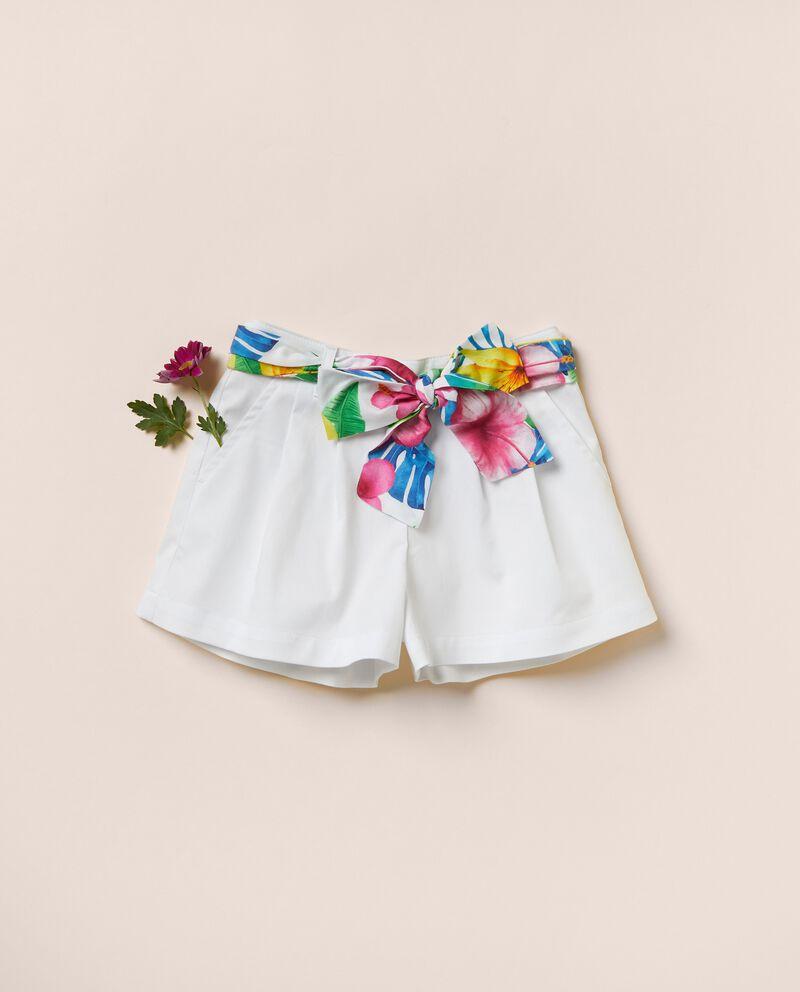Pantaloni in popeline di cotone MADE IN ITALYdouble bordered 0