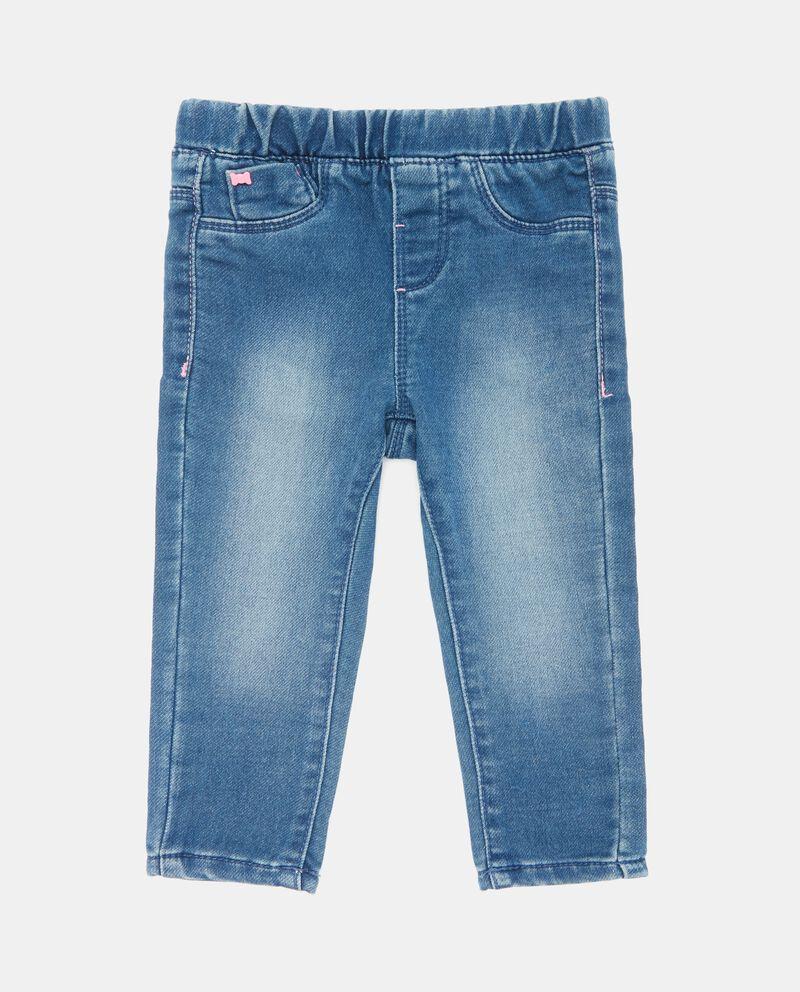 Jeans neonata delavati