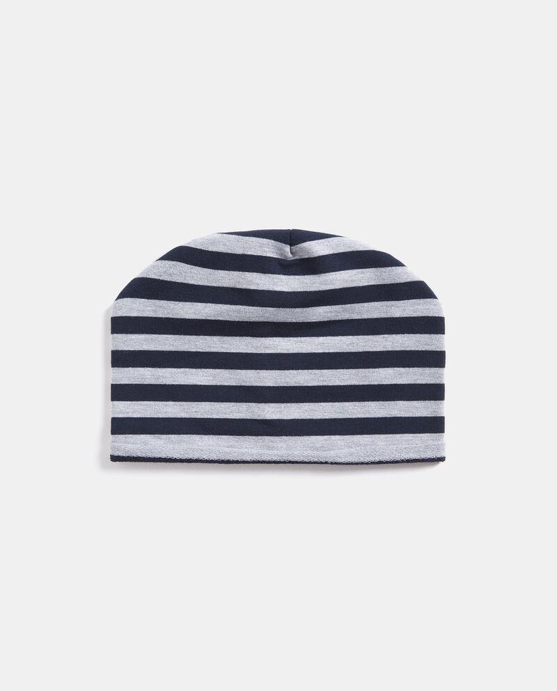 Cappellino a righe neonato