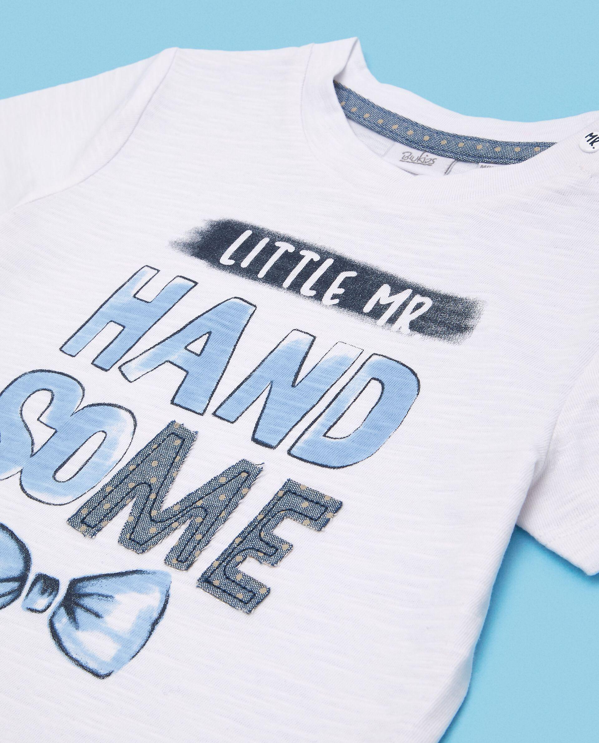 T-shirt in puro cotone neonato