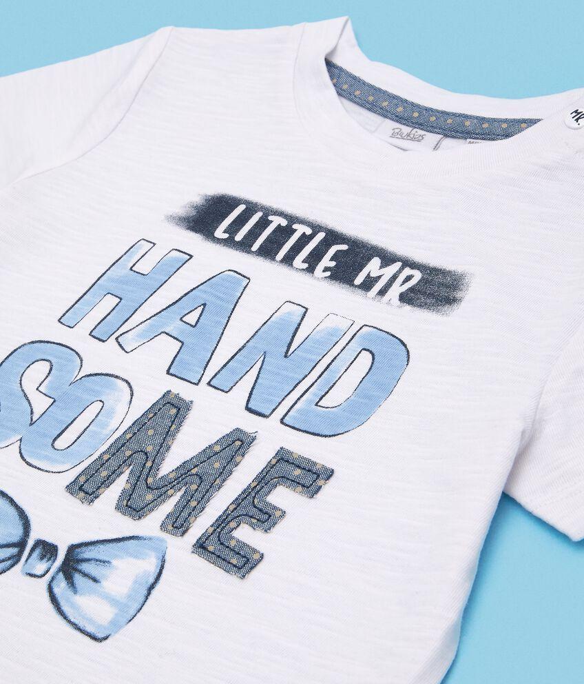 T-shirt in puro cotone neonato double 2