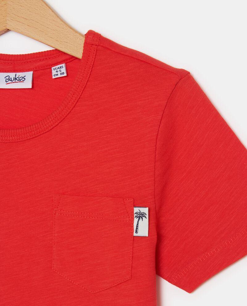 T-shirt in tinta unita puro cotone bambino