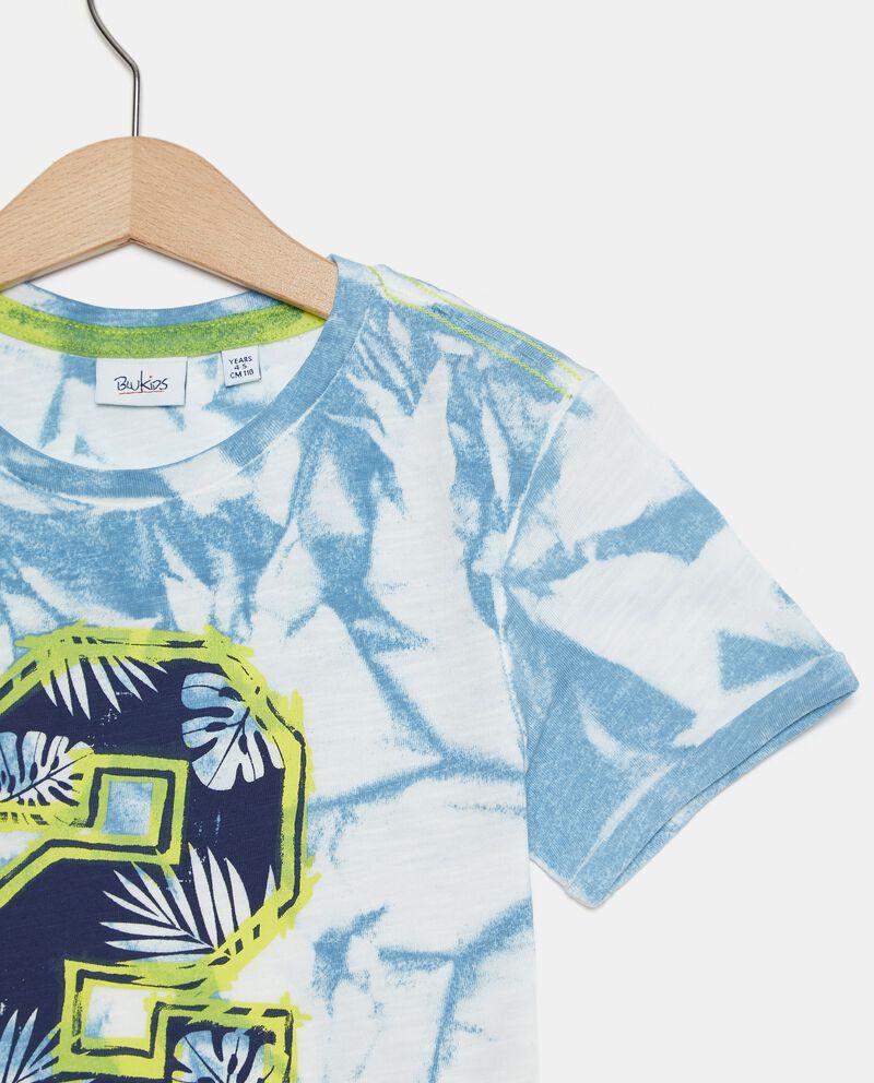 T-shirt in cotone organico stampata bambino single tile 1