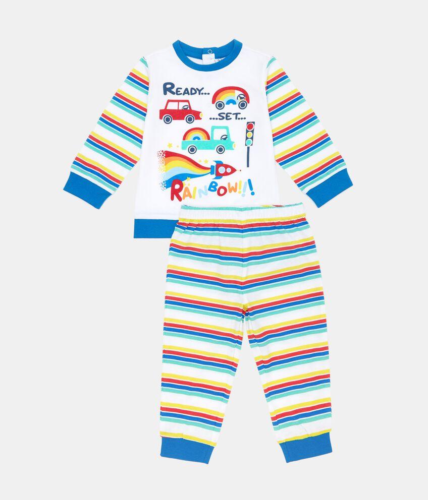 Set pigiama Rainbow in uro cotone neonato
