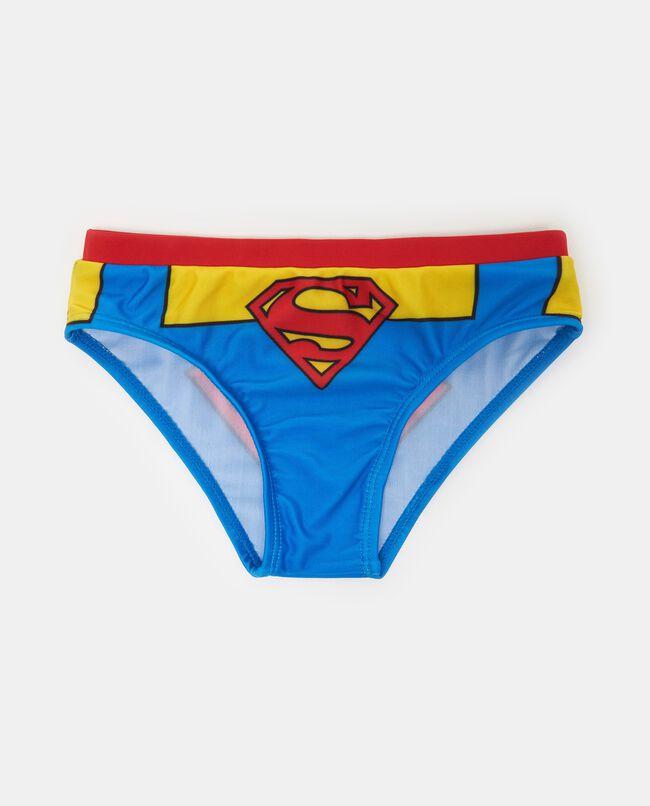 Slip mare maxi stampa Superman