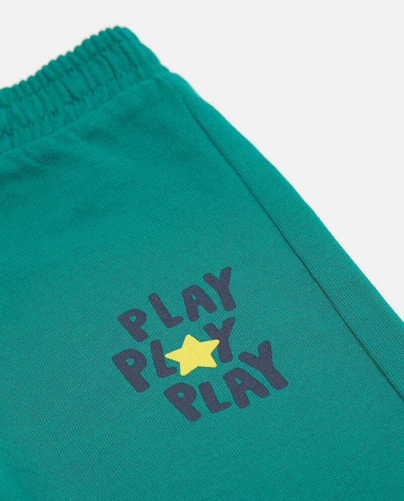 Pantaloni puro cotone neonato single tile 1