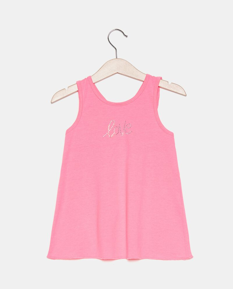 Top smanicato in jersey bambina cover