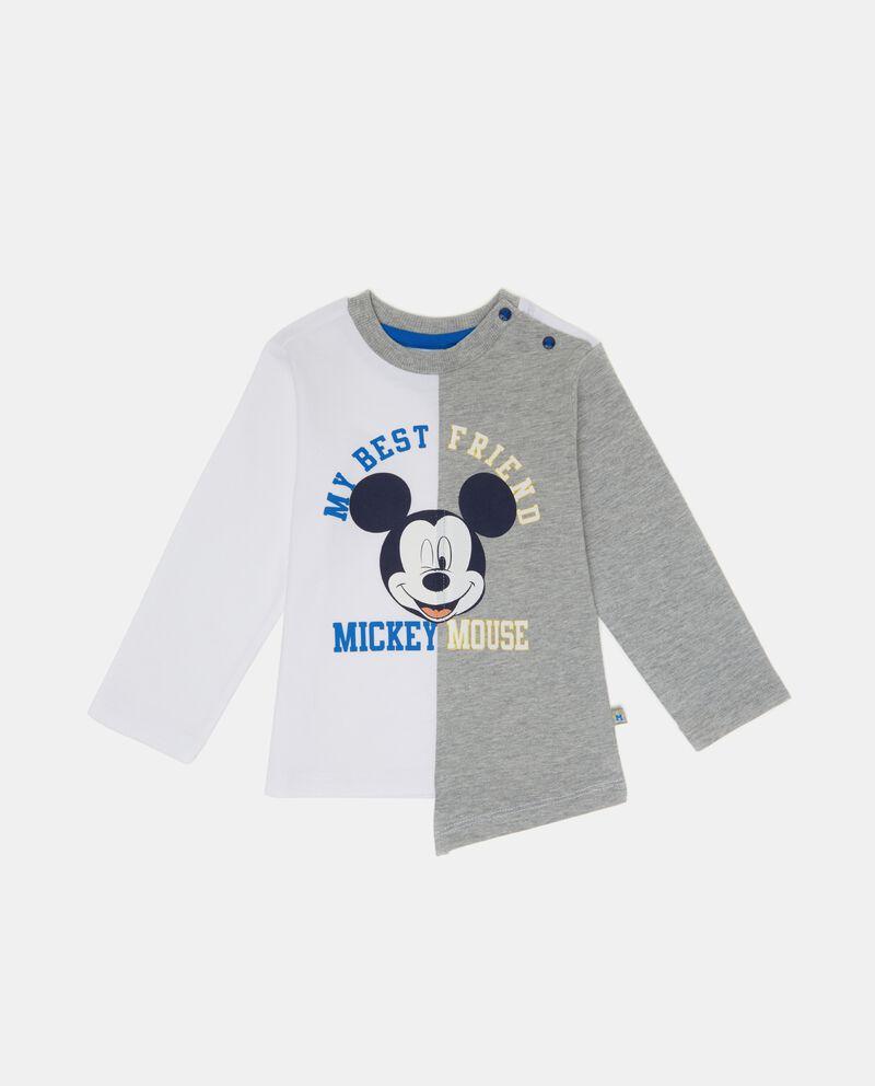 T-shirt doppio colore neonato