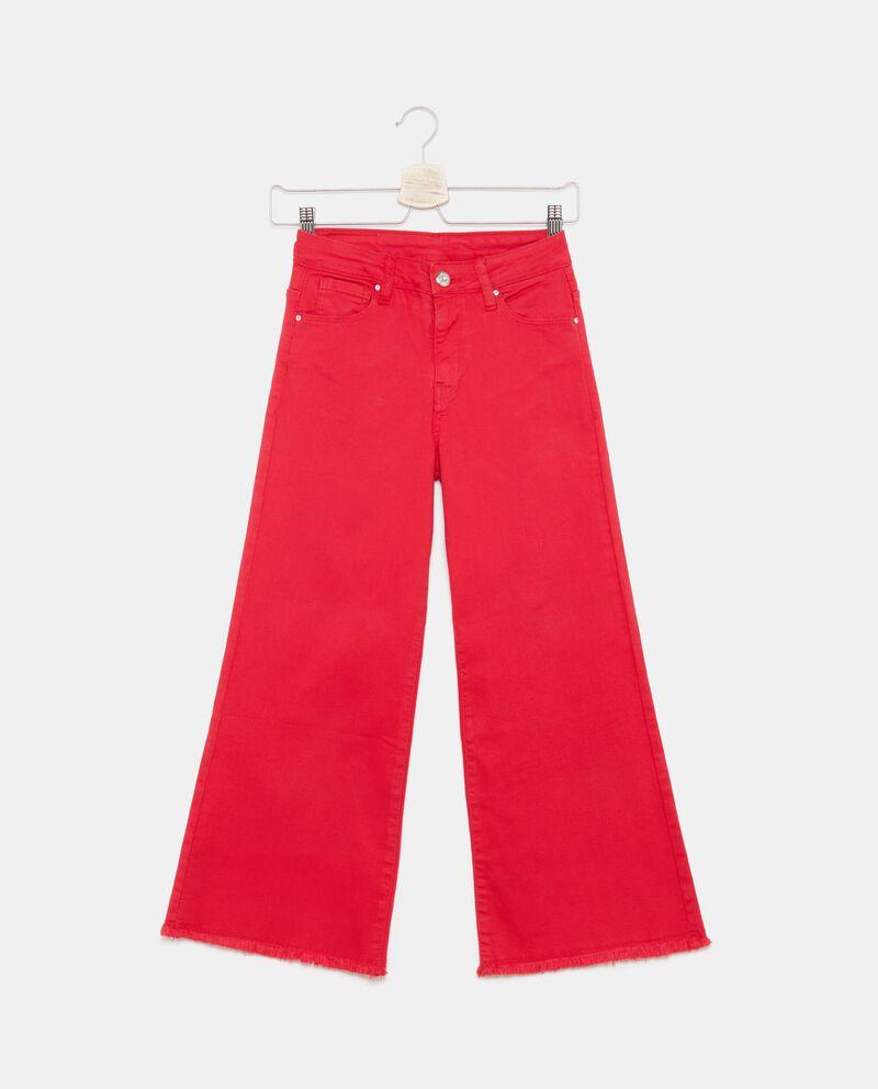 Pantaloni ampi in tinta unita ragazza