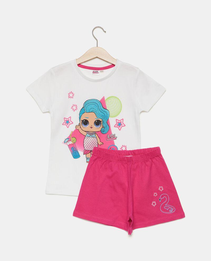Set pigiama cartoni in puro cotone bambina