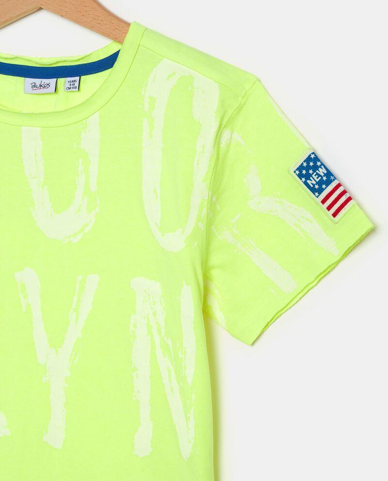 T-shirt con lettere ragazzodouble bordered 1