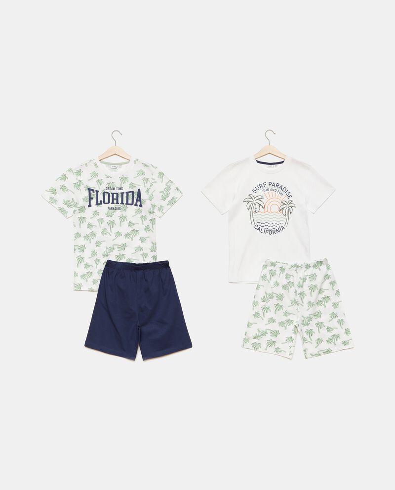 Bipack con set pigiami in puro cotone bambino