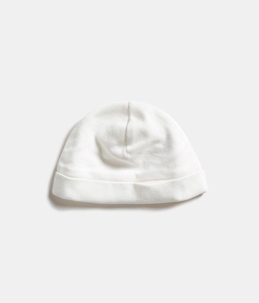 Cappellino in puro cotone tinta unita
