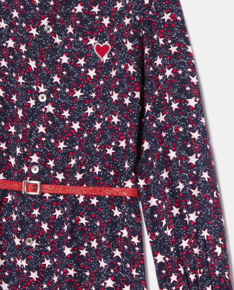 Camicia in fantasia long fit bambina single tile 1