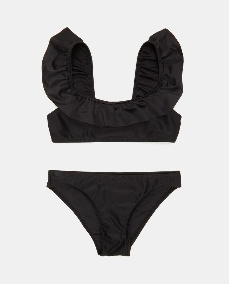 Costume bikini con balza ragazza