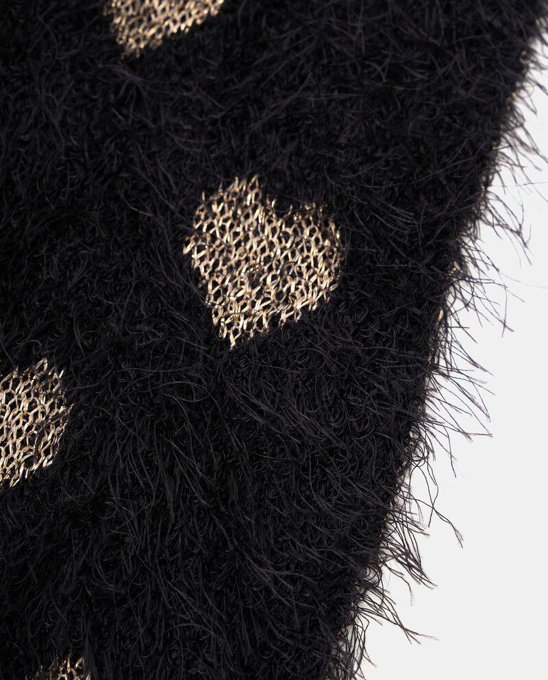 Sciarpa con motivo con filo lurexdouble bordered 1