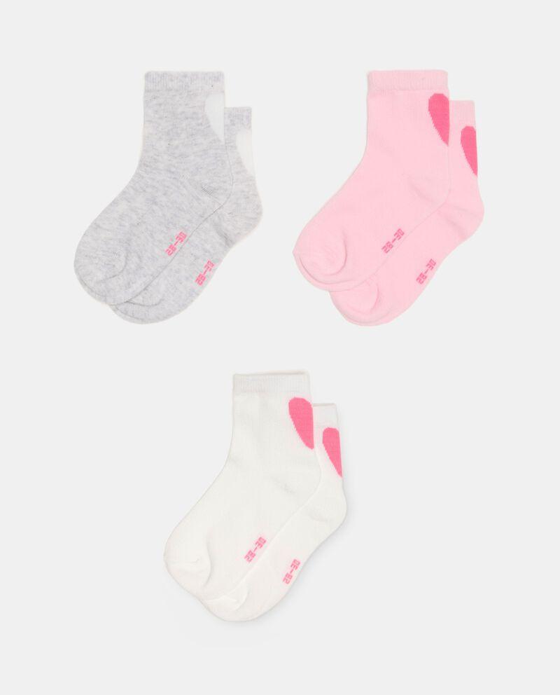 Pack di 3 calzini in cotone organico neonata cover