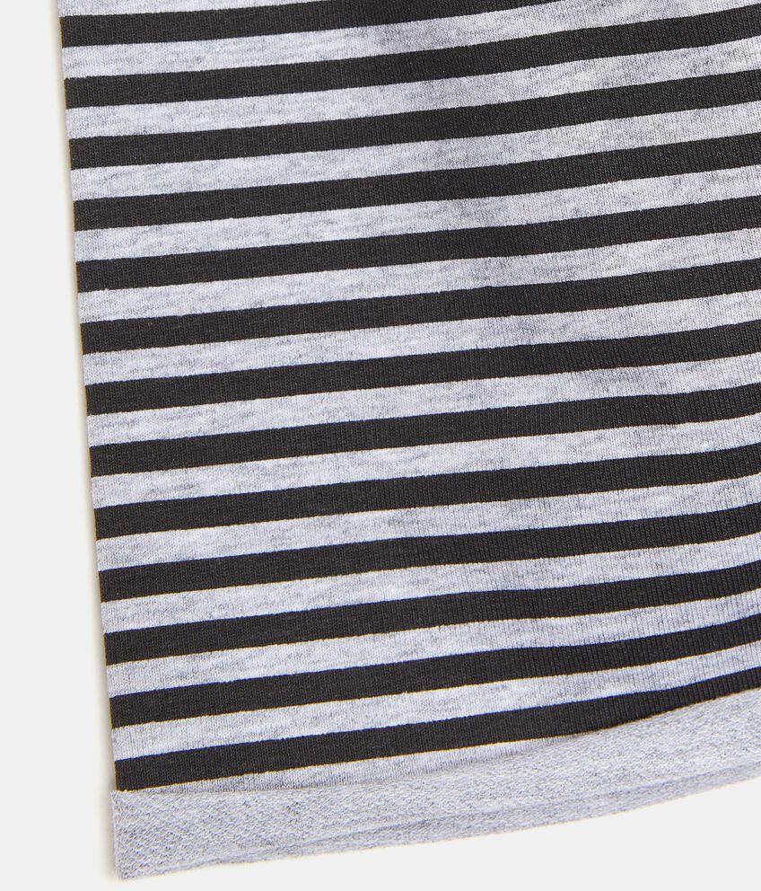 Berretto a righe in cotone elasticato bambino double 2
