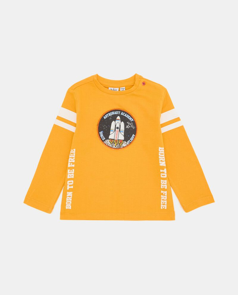 T-shirt di cotone organico neonato cover