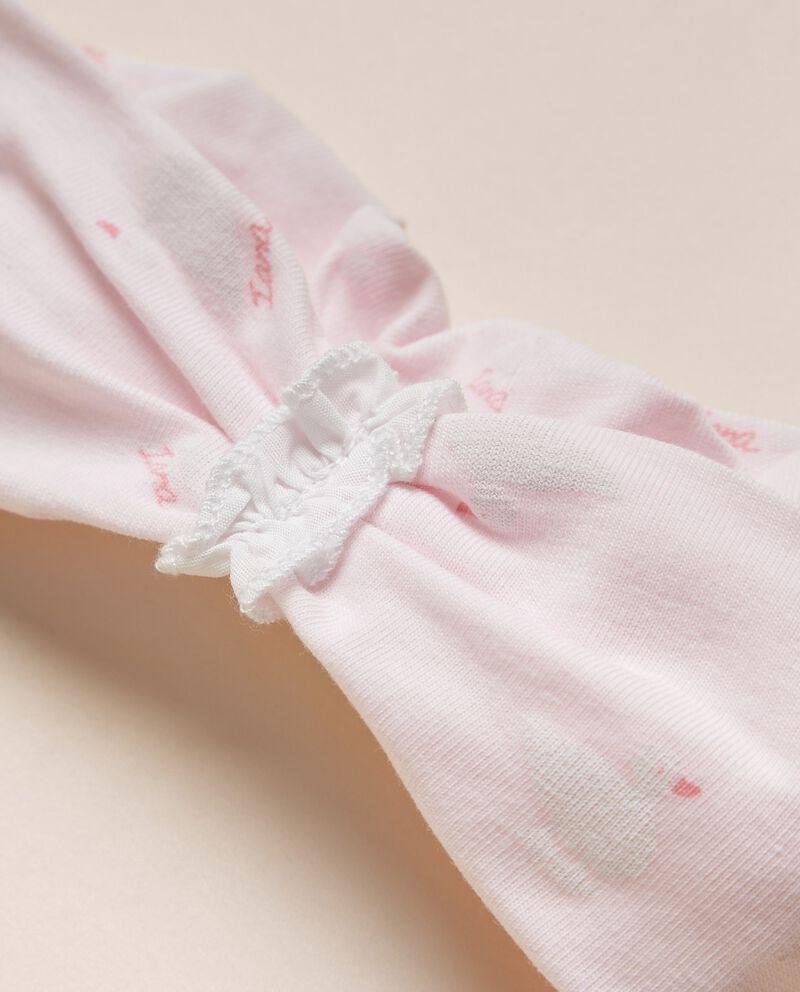 Fascia elastica per capelli in cotone organico jersey stretch MADE IN ITALY single tile 1