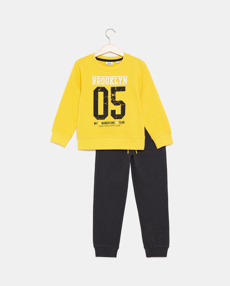 Jogging set in cotone organico bambino cover
