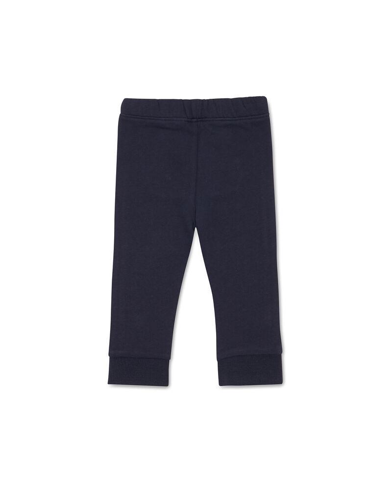 Pantaloni coulisse e bande a contrasto