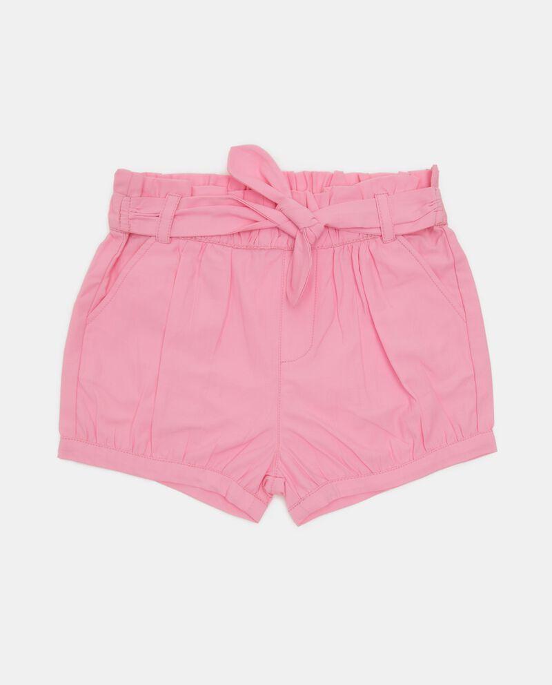 Shorts in tinta unita