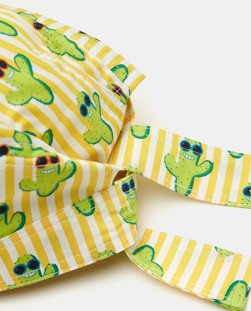 Bandana in popeline puro cotone stampata neonato