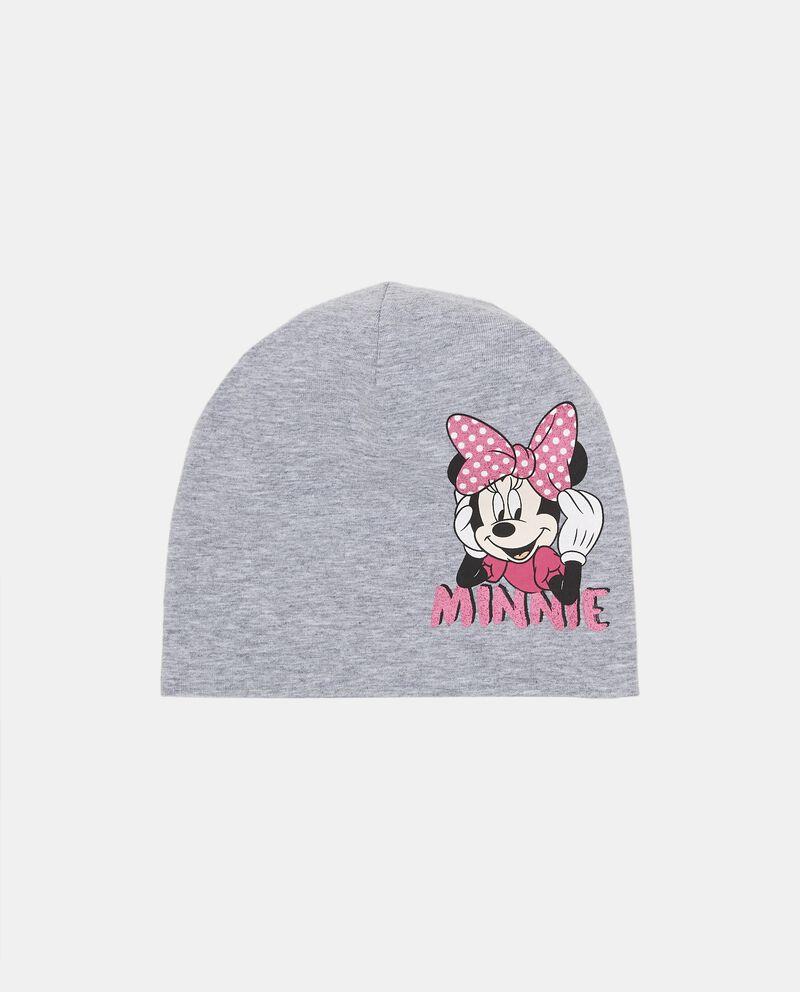 Berretto mélange stampa Minnie