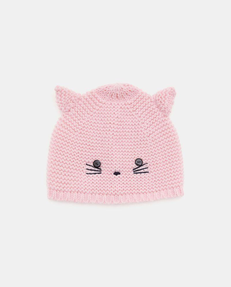 Capello crochet con disegno neonata