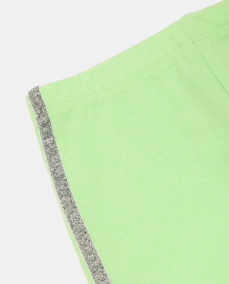 Leggings di cotone elasticato con bande neonatadouble bordered 1