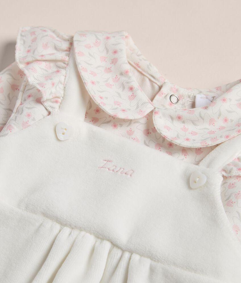 Tutina con maglia in cotone stretch IANA Made in Italy double 2