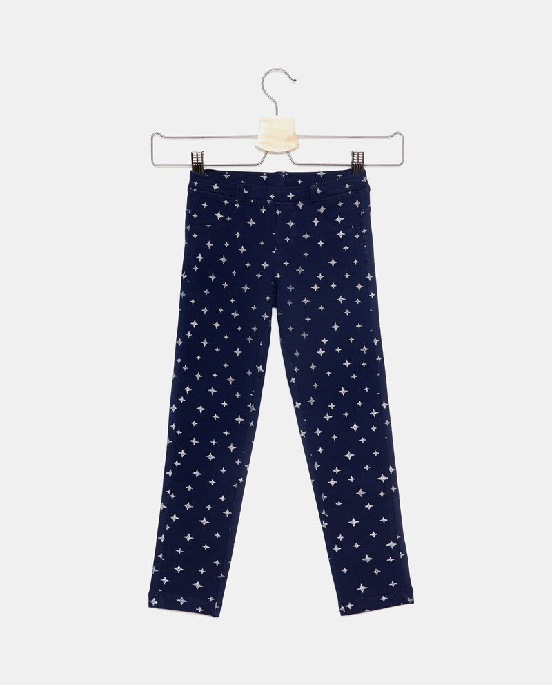 Pantaloni con fantasia stelle bambina