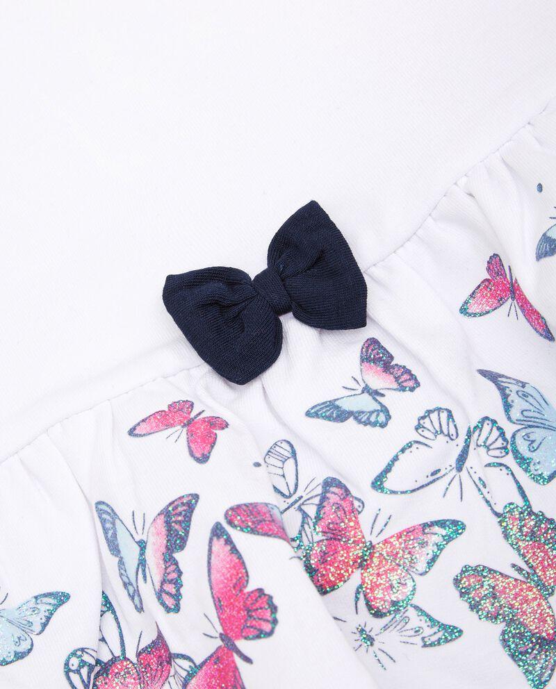Set con maglia e leggings in puro cotone neonata single tile 1