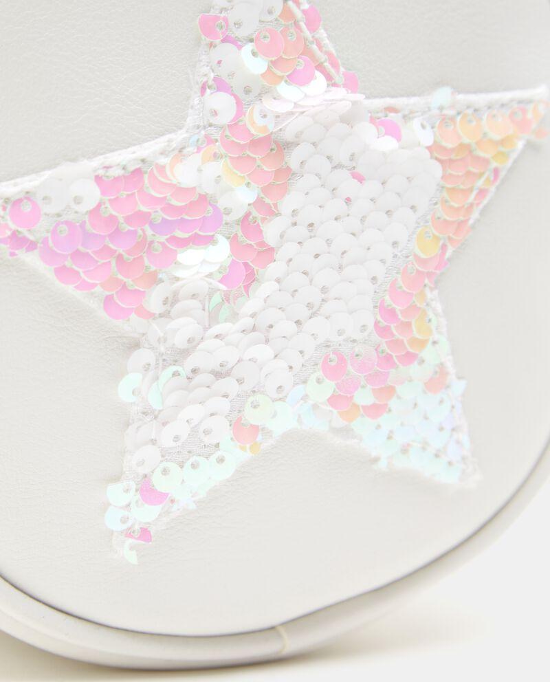Pochette con stella in paillettes bambina