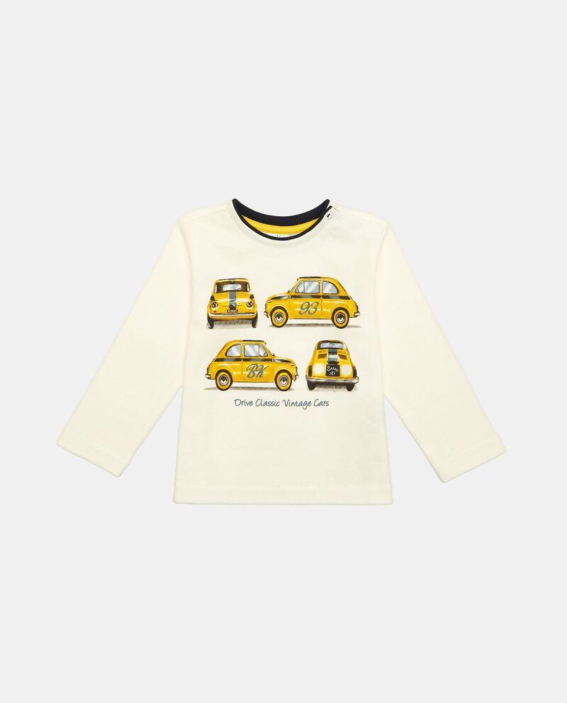 T-shirt maniche lunghe macchinine