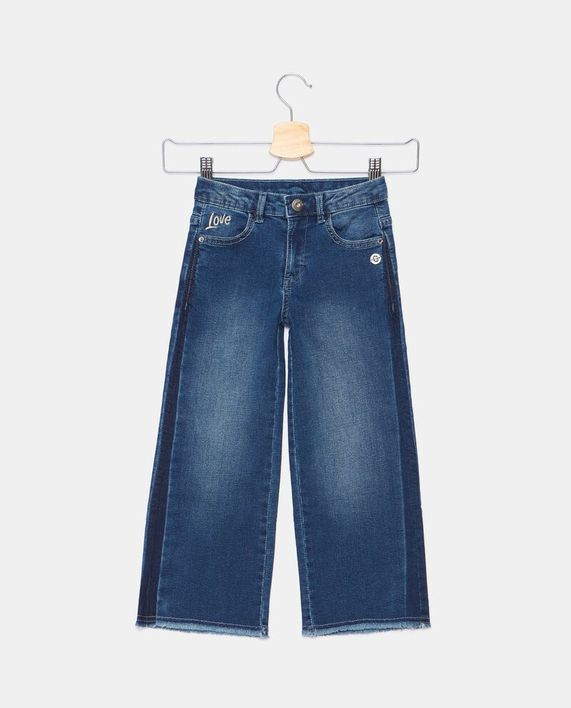 Jeans cropped ampi bambina cover
